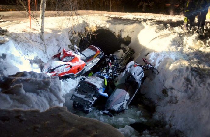 Un accident de motoneige cause le décès d'un jeune homme de 24 ans à l'Avenir près de Drummondville