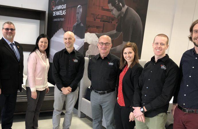 La Fabrique de Matelas choisi Drummondville pour implanter sa 4e succursale