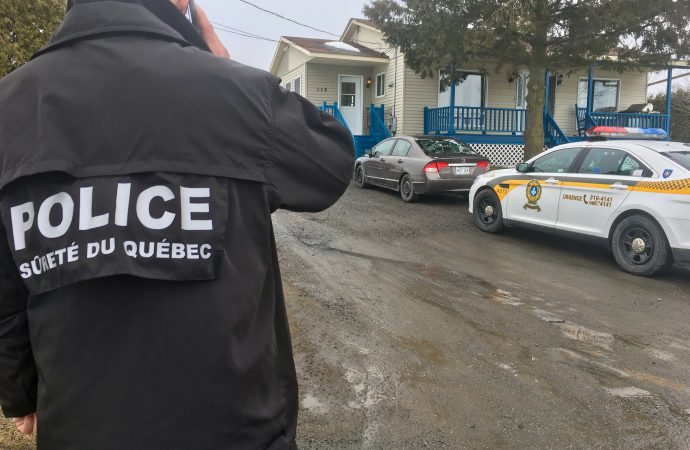 EECCO de Drummondville et les policiers de la MRC de Drummond procèdent à l'arrestation d'un résident de Saint-Germain-de-Grantham