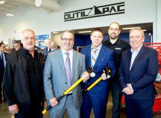 Outil Pac investit 2,6 M$ à Drummondville