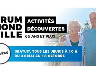 L'initiation activité physique pour 65 ans et plus– Drummondville dévoile la programmation de la 1ère édition