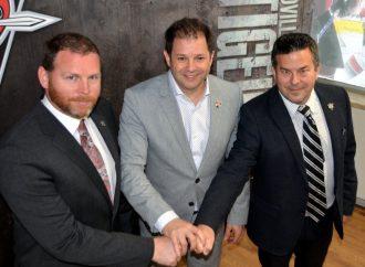 Stéphane Desroches et Sébastien Charpentier à la direction des Voltigeurs- Steve Hartley devient entraîneur-chef