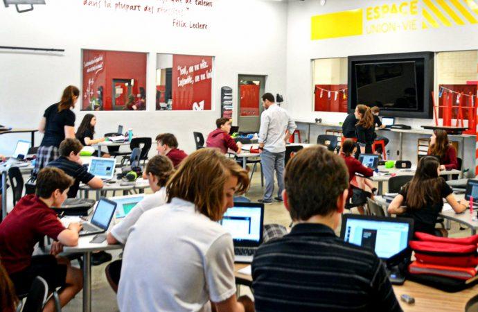 La France s'intéresse aux zones innovantes du Collège Saint-Bernard