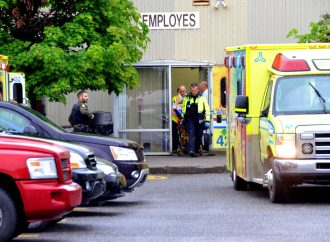 Accident de travail chez SPG International de Drummondville