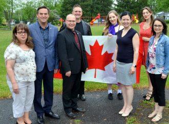 On célèbre la Fête du Canada le 1er juillet à Drummondville