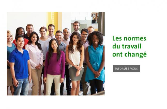 Campagne de la CNESST sur les normes du travail-Informez-vous sur les nouvelles normes du travail
