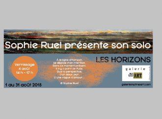 La Beauceronne Sophie Ruel présente son exposition solo «Les horizons» dès le 1er août à la Galerie mp tresart
