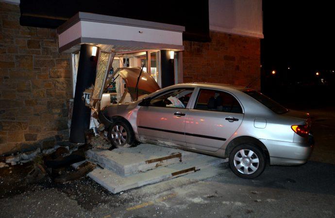 L'alcool en cause dans un accident fracassant à Drummondville