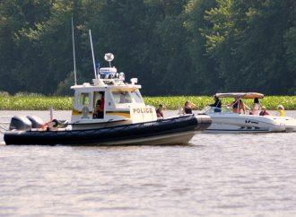 Les patrouilleurs nautiques de la Sûreté du Québec présents sur la rivière Saint-François
