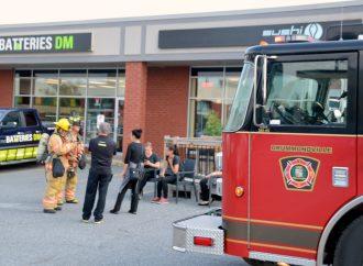 Interventions en raison de deux fuites de gaz dans la MRC de Drummond et un début d'incendie de forêt