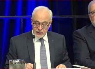 Le ministre des Finances rend public le premier rapport préélectoral de l'histoire du Québec