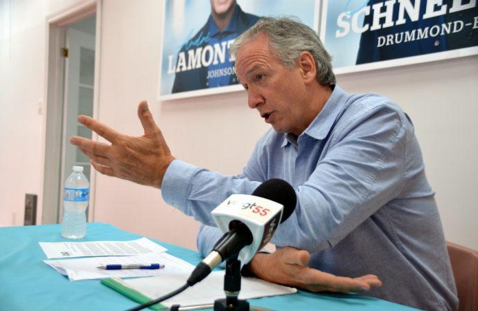 La CCID exige des réponses franches du ministre André Lamontagne responsable du Centre-du-Québec