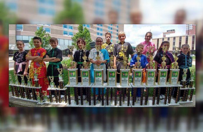 Le Wushu gagne de plus en plus d'adeptes chez les jeunes de Drummondville