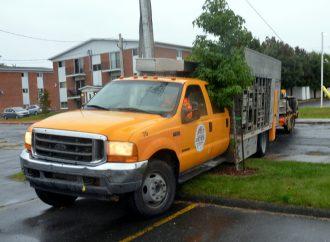 Un camion volé par un «cascadeur» à Drummondville?