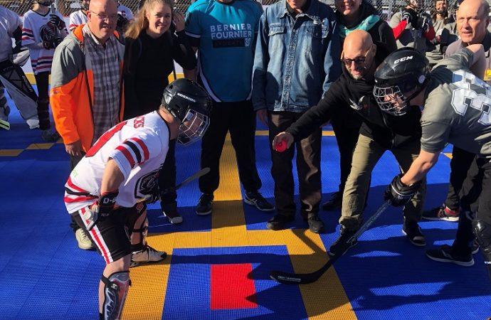 Franc succès pour la deuxième édition du tournoi mixte de dekhockey