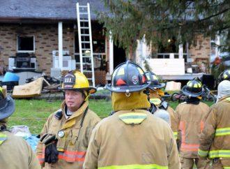 Explosion et incendie suspect à Drummondville