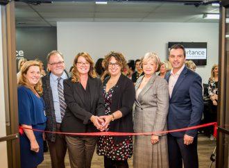 Inauguration de nouveaux espaces de travail pour «Partance»