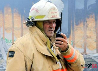 Remise de décorations et de citations en matière de sécurité incendie: Richard Hébert reçoit la Médaille pour acte méritoire