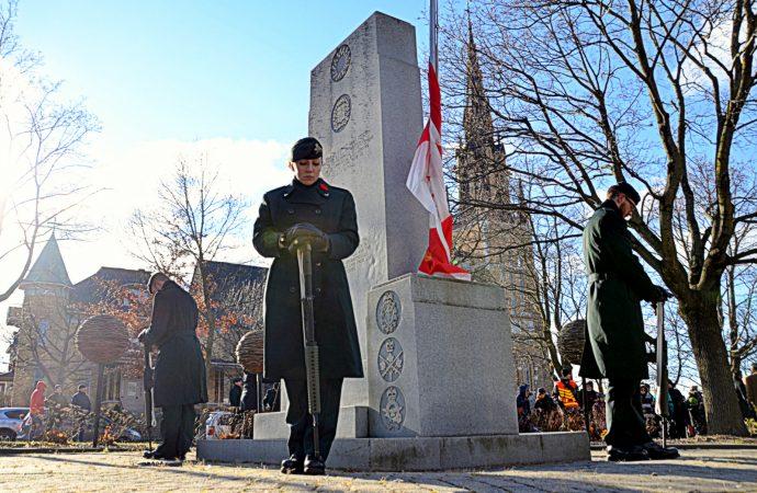 Jour du Souvenir – Une commémoration aujourd'hui au Centre-ville de Drummondville