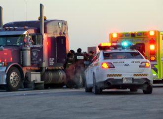 Un homme retrouvé sans vie dans son camion au Big Stop de Saint-Cyrille-de-Wendover