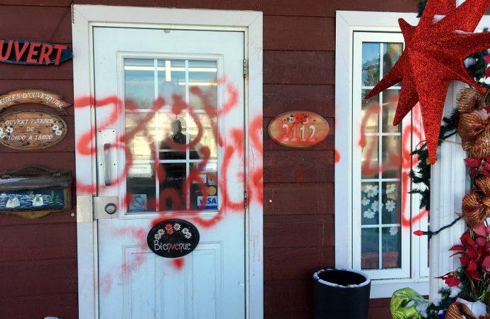 Mouvement mondial «Spécisme»: Drummondville touchée par des vandales