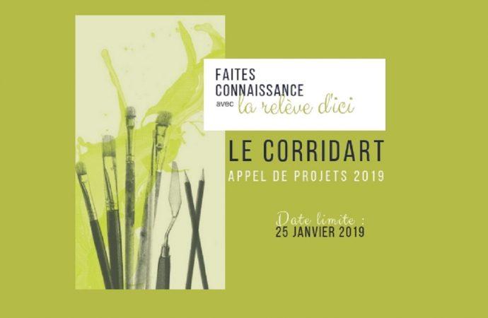 Les artistes de la relève invités à exposer au CorridArt
