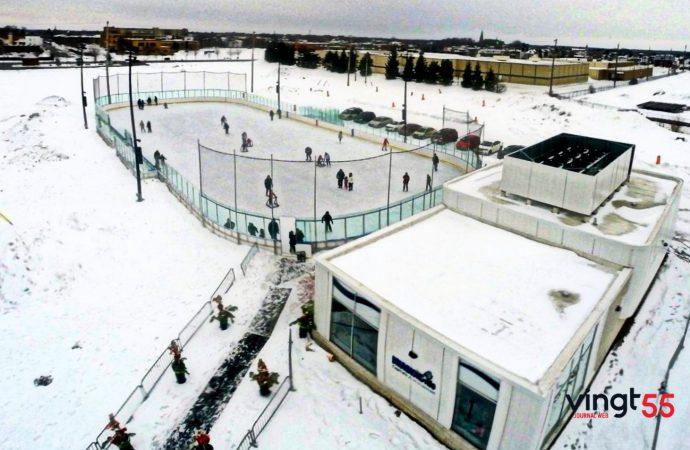 Fin de saison pour les patinoires et sentiers extérieurs, mais la patinoire Victor-Pepin en activité jusqu'à la première semaine d'avril