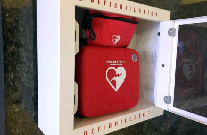 L'installation d'un défibrillateur portatif (DEA) arrive après la mort d'un collègue pour des employés de l'ONF