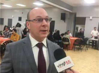 François Choquette présente les engagements du NPD en santé pour couvrir tous les citoyens de la tête aux pieds