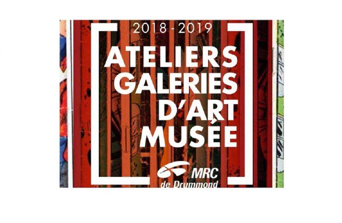 Ateliers et galeries d'art: La MRC de Drummond prépare son circuit 2019-2020