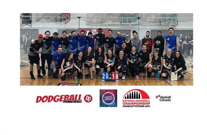 Trois équipes du Québec aux championnats nationaux de Dodgeball à Charlottetown, à l'Île-du-Prince-Édouard