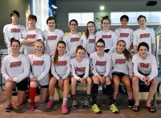 Championnat provincial AA d'hiver, division EST, les Requins sont fiers du succès de l'événement.