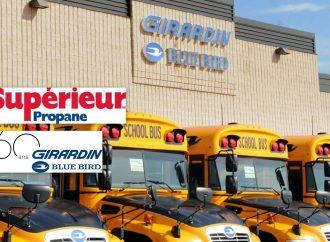 Autobus Girardin et Supérieur Propane s'associent pour réduire les gaz à effet de serre