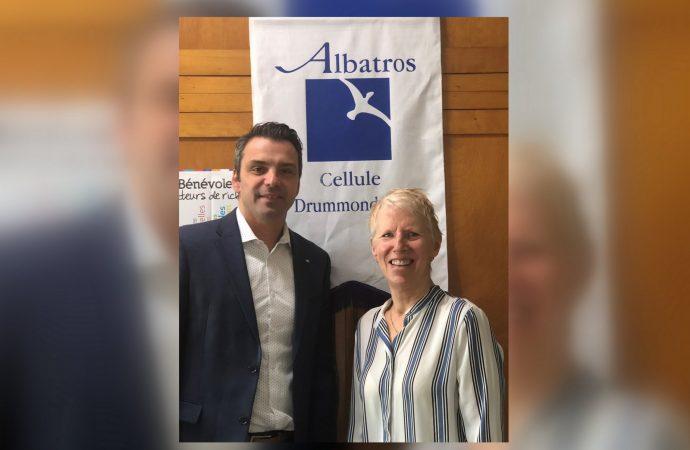 Sébastien Schneeberger souligne la mission humanitaire d'Albatros Drummondville