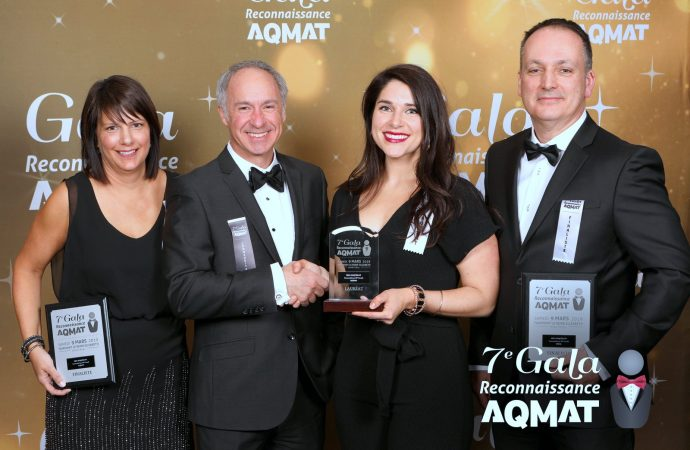 RESISTO : Récipiendaire du prix Conquérant au gala de reconnaissance AQMAT 2019