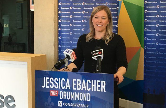 Jessica Ebacher candidate du Parti conservateur du Canada dans Drummond en vue des élections 2019