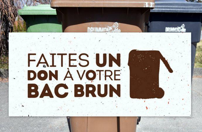 Vaste offensive de la MRC de Drummond et de la Ville de Drummondville pour augmenter la valorisation des matières résiduelles