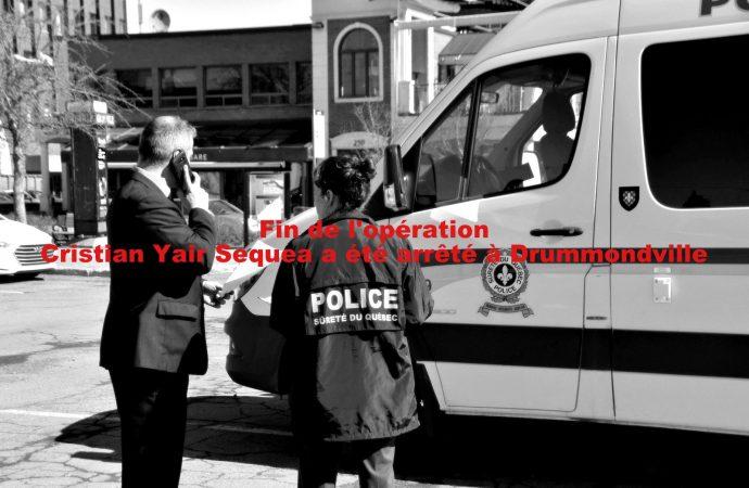 Opération policière des crimes majeurs en cours pour localiser Cristian Yair Sequea, 22 ans