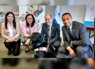 Un chien agira en tant que soutien émotionnel auprès des jeunes de la Mauricie et du Centre-du-Québec