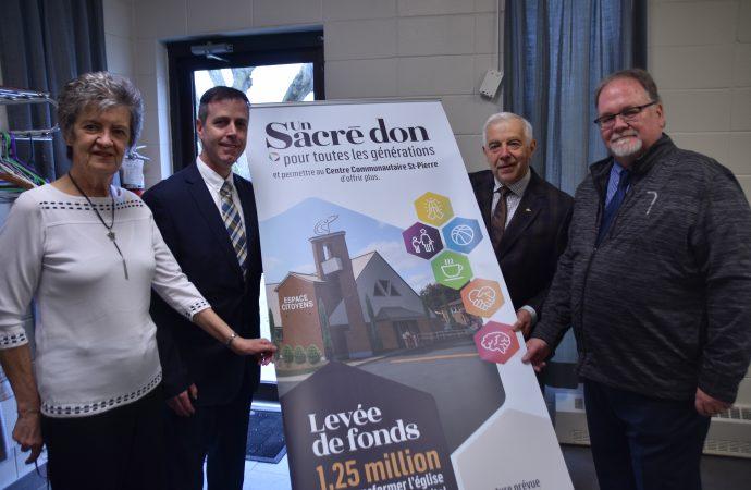 Transformation de l'église Saints-Pierre-et-Paul, début des travaux du nouvel « Espace citoyen » du CCSP