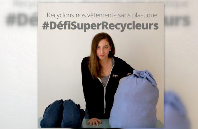 Drummondville – Recyclons nos vêtements sans plastique #DéfiSuperRecycleurs