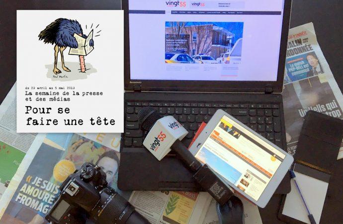 La Fédération professionnelle des journalistes du Québec lance la Semaine de la presse et des médias : Pour se faire une tête