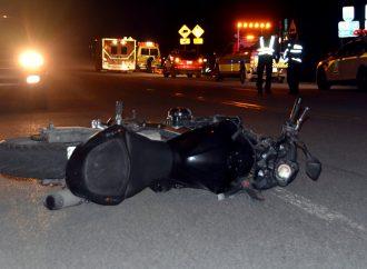 Accident – Un motocycliste blessé lors d'une perte de contrôle sur le rang de l'Église