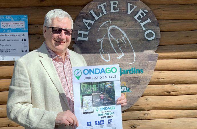 L'application ONDAGO pour les pistes cyclables et sentiers