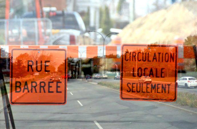Travaux de réfection et d'aménagement du boulevard Saint-Joseph entre la rue Celanese et le boulevard Jean-De Brébeuf