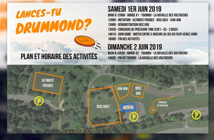 Un premier Festival du disque volant à Drummondville