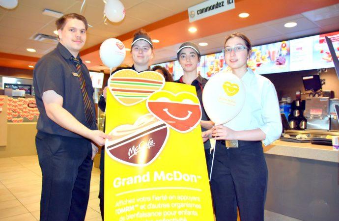 Demain 8 mai à Drummondville, McDonald's célébrera aussi le 26e Grand McDon