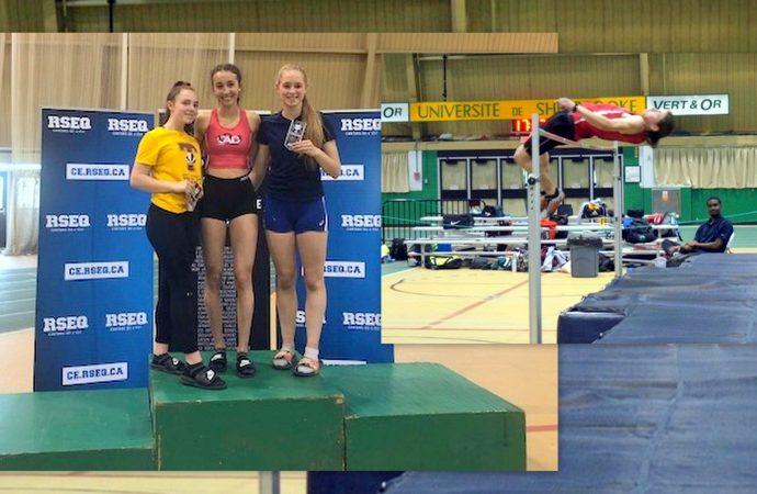 La plus haute marche du podium pour deux athlètes du Collège Saint-Bernard
