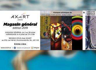 L'édition 2019 du Magasin général d'AXART, à ne pas manquer