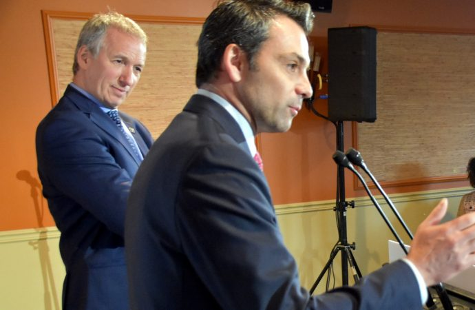 Projet de loi no 66 : Les députés Lamontagne et Schneeberger annoncent la construction d'une Maison des aînés et d'une nouvelle école secondaire à Drummondville